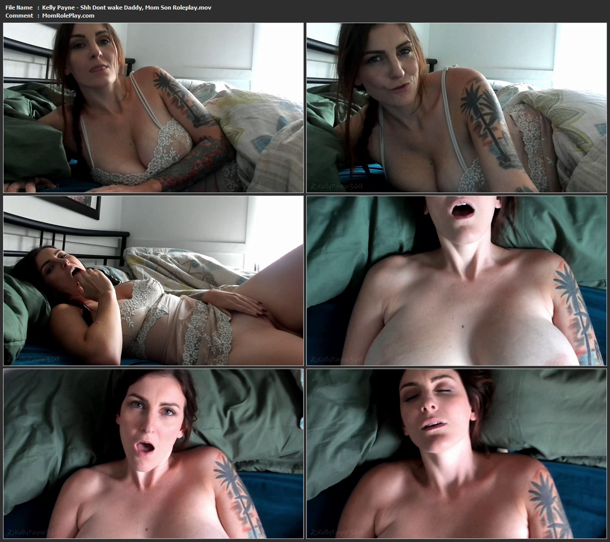 Kelly Payne - Shh Dont wake Daddy, Mom Son Roleplay
