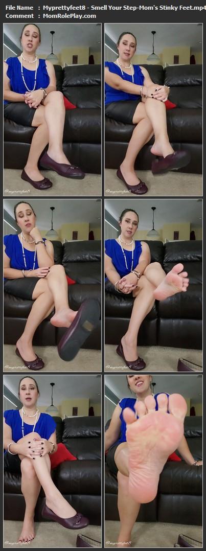 Myprettyfeet8 - Smell Your Step-Mom's Stinky Feet