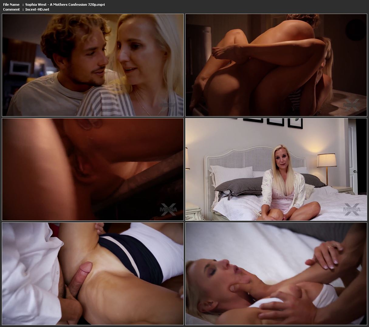 Sophia West - A Mothers Confession 720p