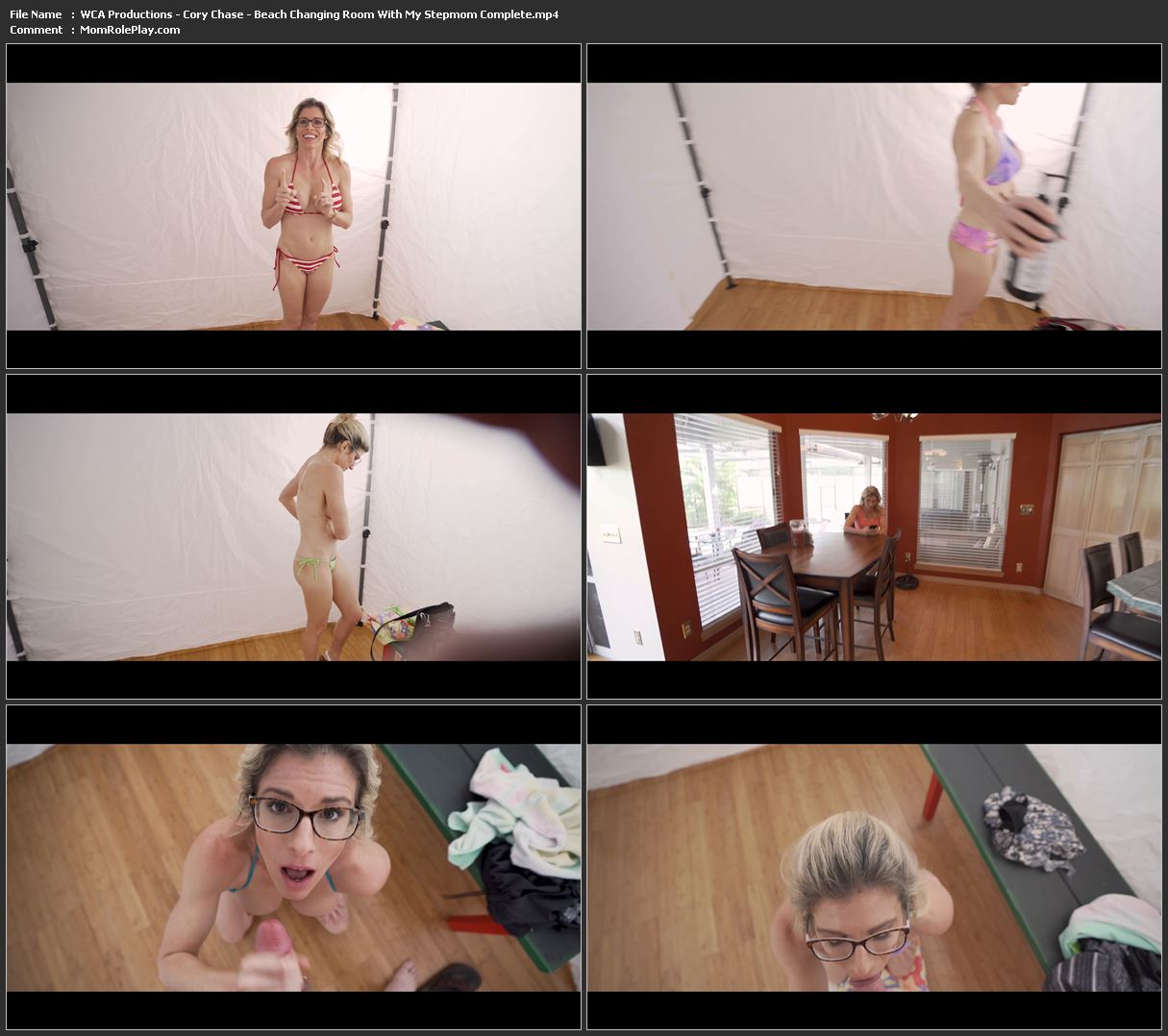 WCA Productions - Cory Chase - Beach Changing Room With My Stepmom Complete