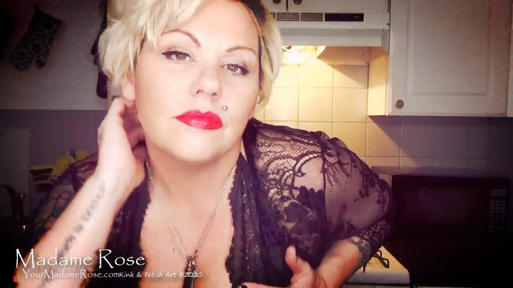 Your Madame Rose - Talk with StepMommy JOI CEI