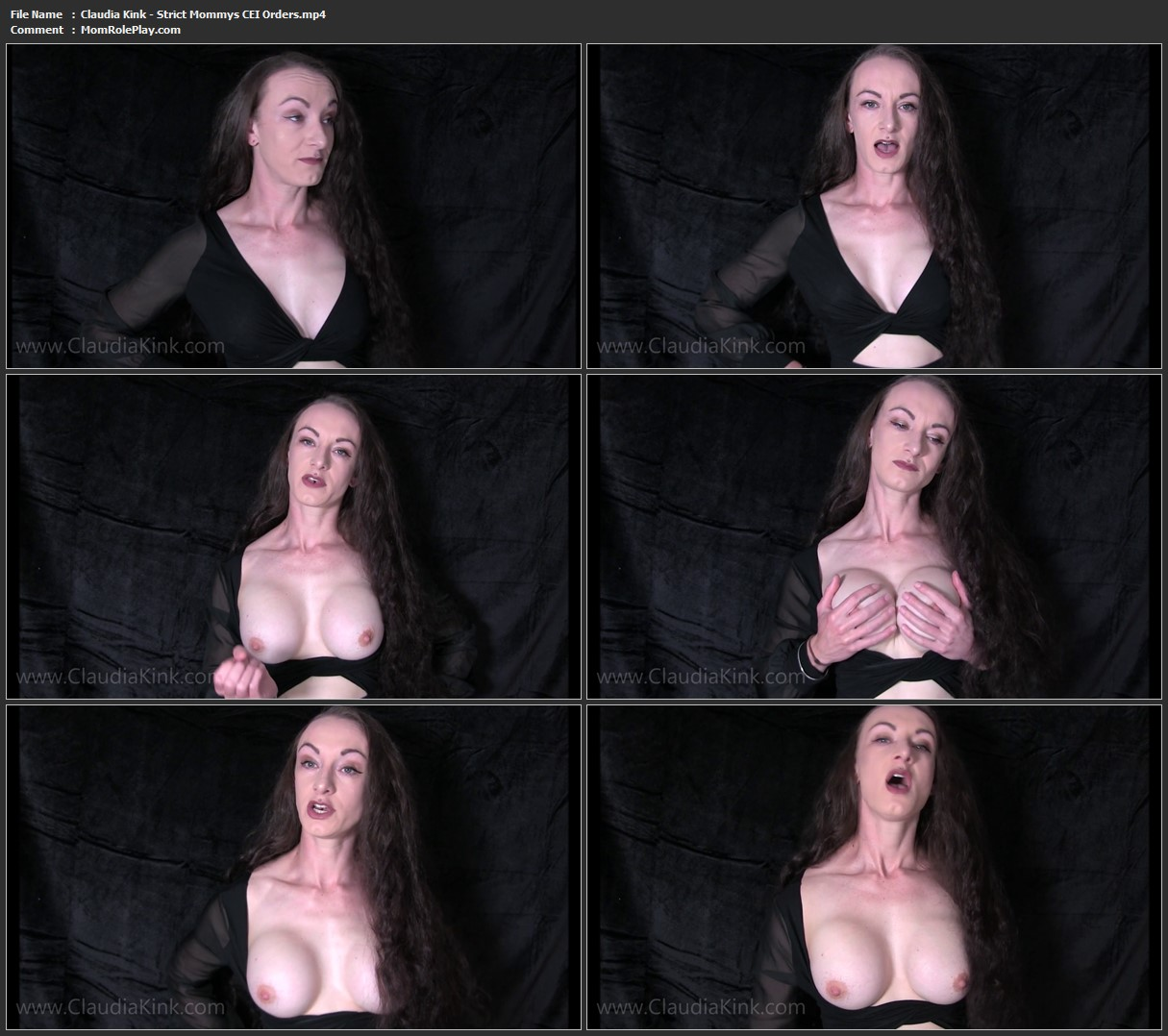 Mistress Claudia Kink - Strict Mommys CEI Orders