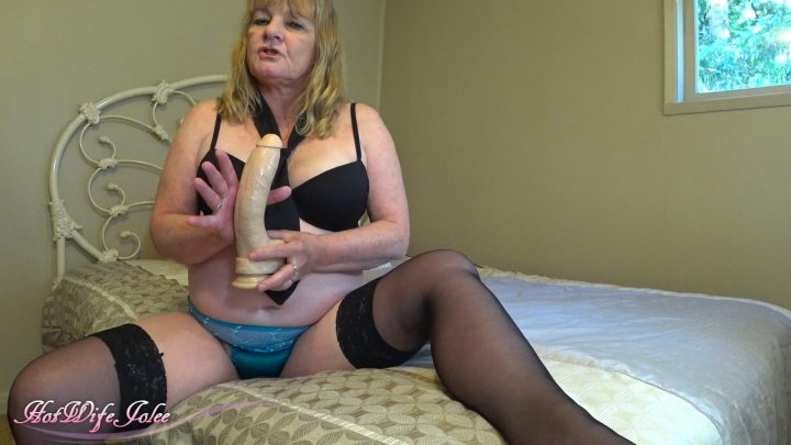 Hot Wife Jolee - Momma's Masturbation Lesson