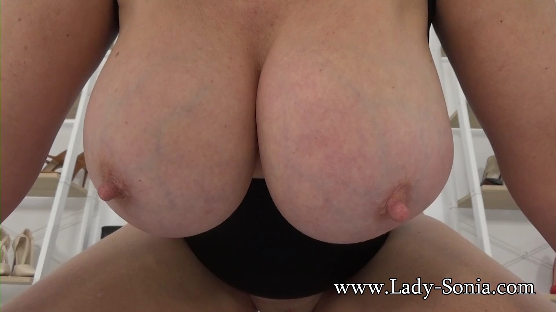 Lady Sonia - Aunties Big 36f Tits As You Edge