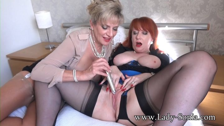 Lady Sonia – The Aunties Tease The Porn Addicted Wanker