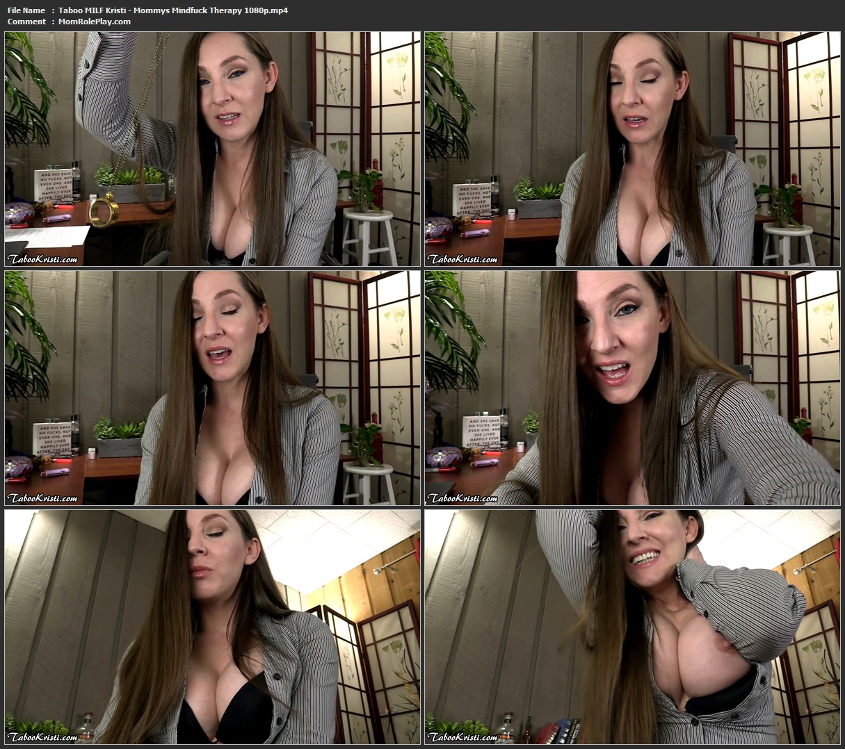 Taboo MILF Kristi - Mommy's Mindfuck Therapy