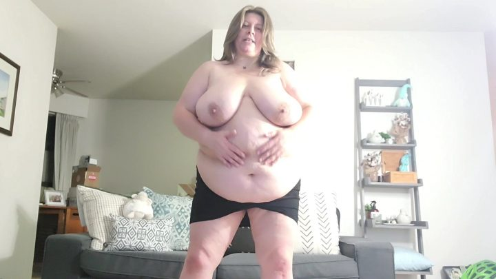 Cougar BBW - BBW Mom Mad Son Cums to Fast