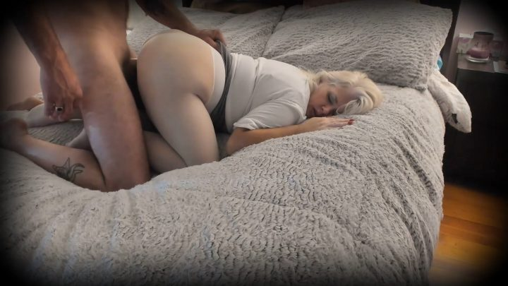 Painted Rose - Auntie Rose's Seamless Pantyhose Fucked