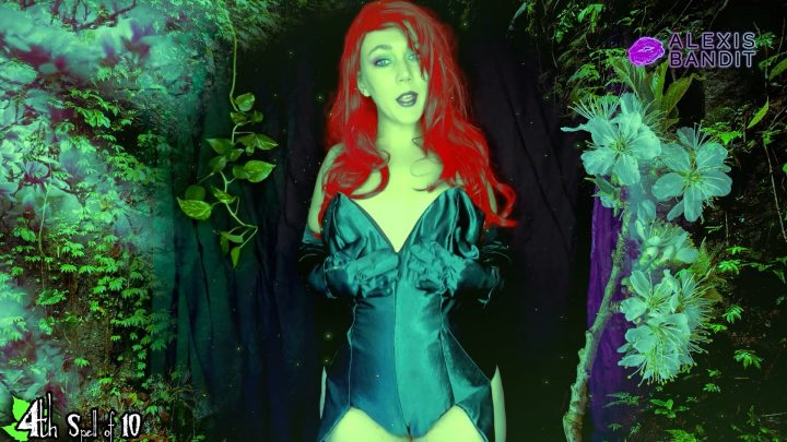 Alexis Bandit - Grow For Poison Ivy Submissive Little