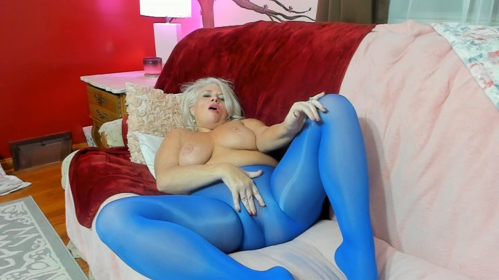 Painted Rose - Seamless Silky Pantyhose: Indiscretion