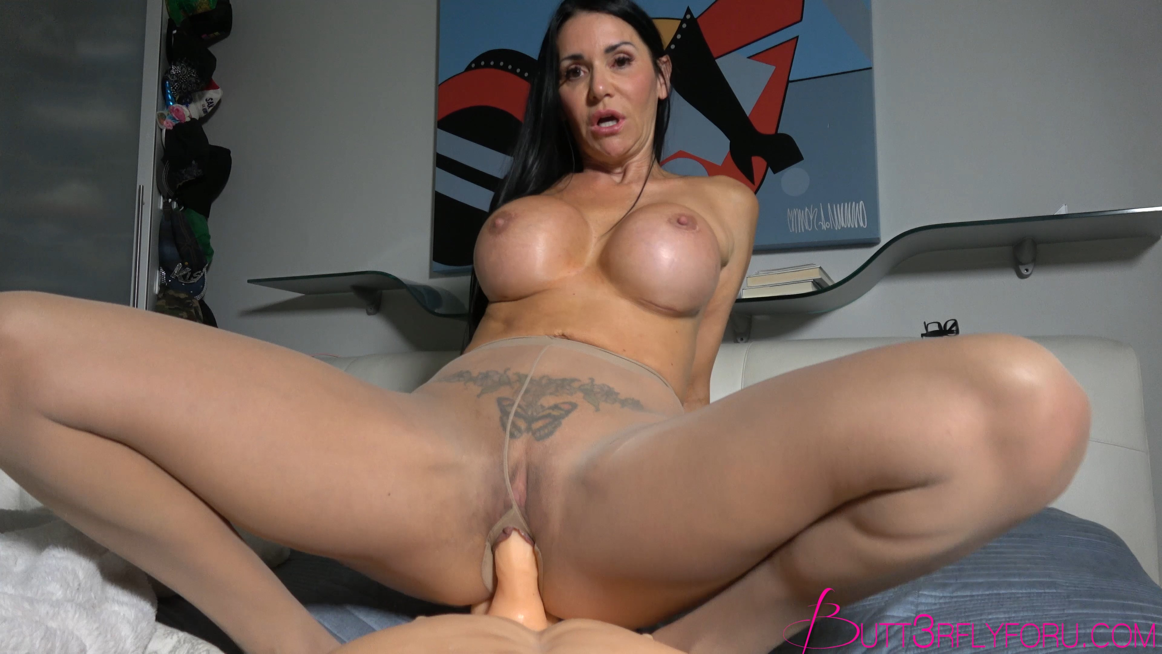 Rae Knight xxx - Fucking Mom In Her New Pantyhose