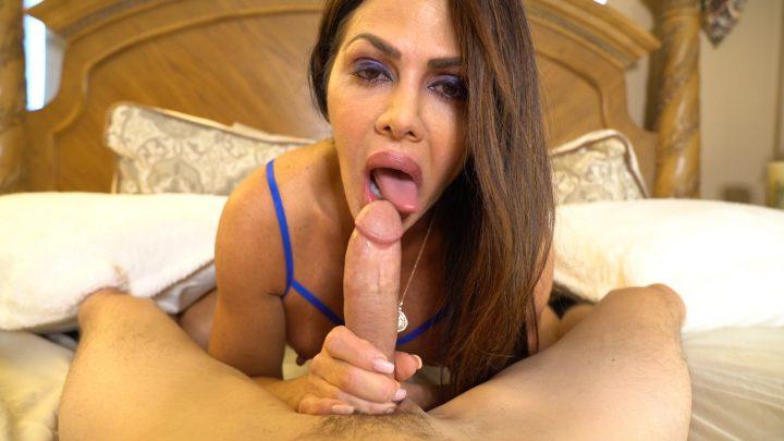 JohnnyTattoo - Step Mom Nina Dulci Sucks Dick Pt 1
