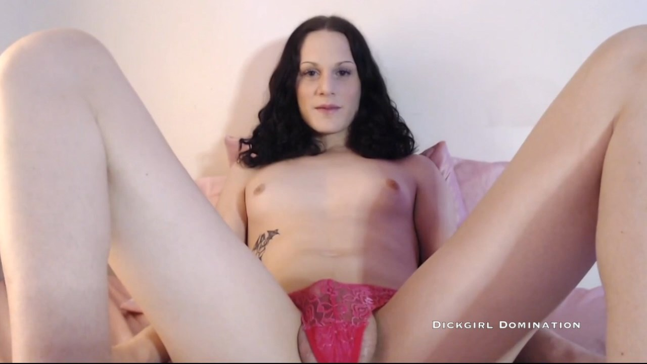 Dickgirlmia - Used and Sissified by TS Mistress JOI