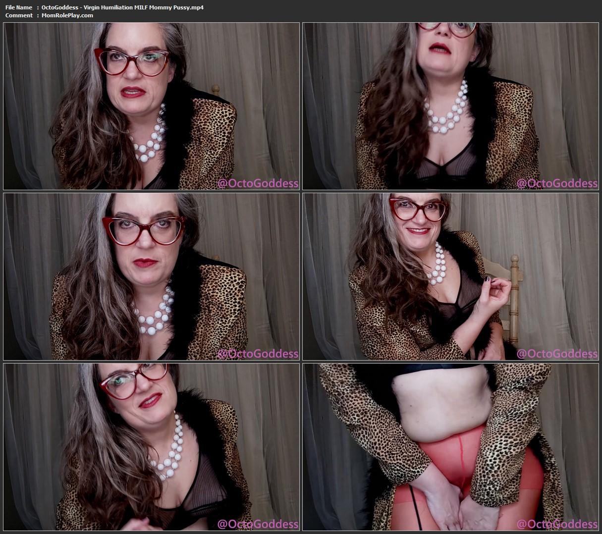 OctoGoddess - Virgin Humiliation MILF Mommy Pussy