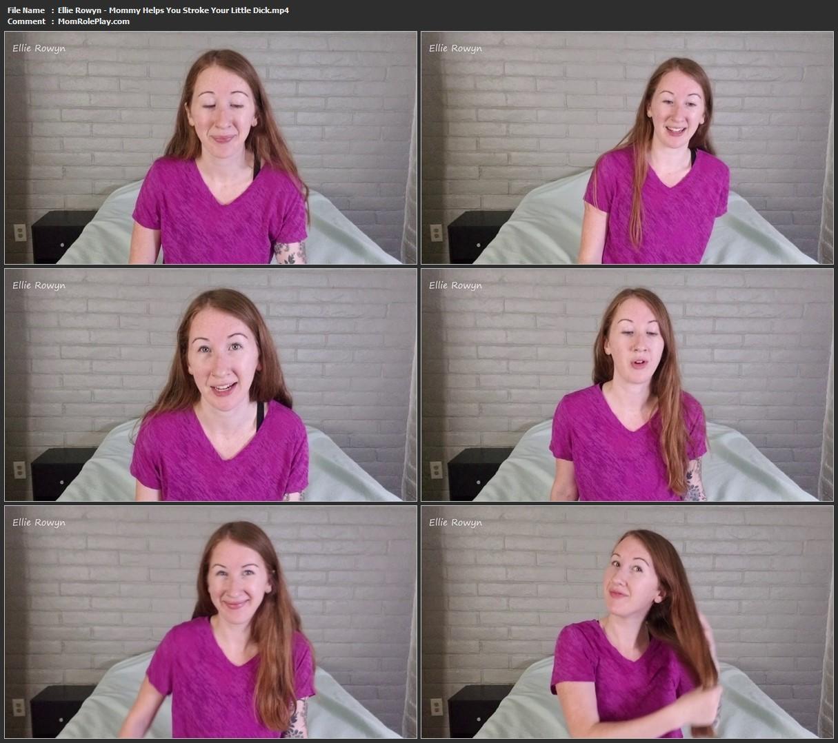 Ellie Rowyn - Mommy Helps You Stroke Your Little Dick