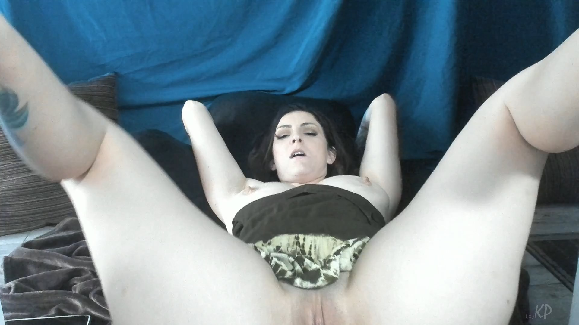 Kelly Payne - Dog Cleans Mom and Sons Cum