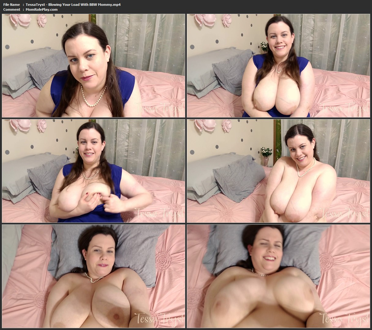 Tessa Tryst - Blowing Your Load With BBW Mommy