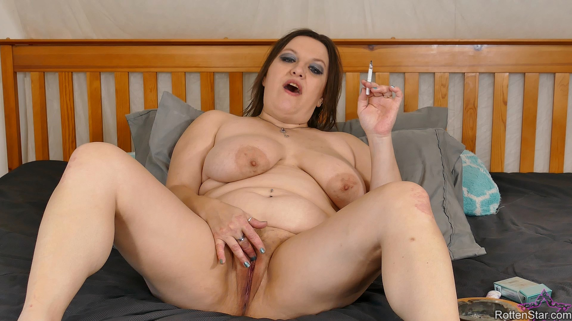 Alhana - Smoking Step Mommy Catches Step Son
