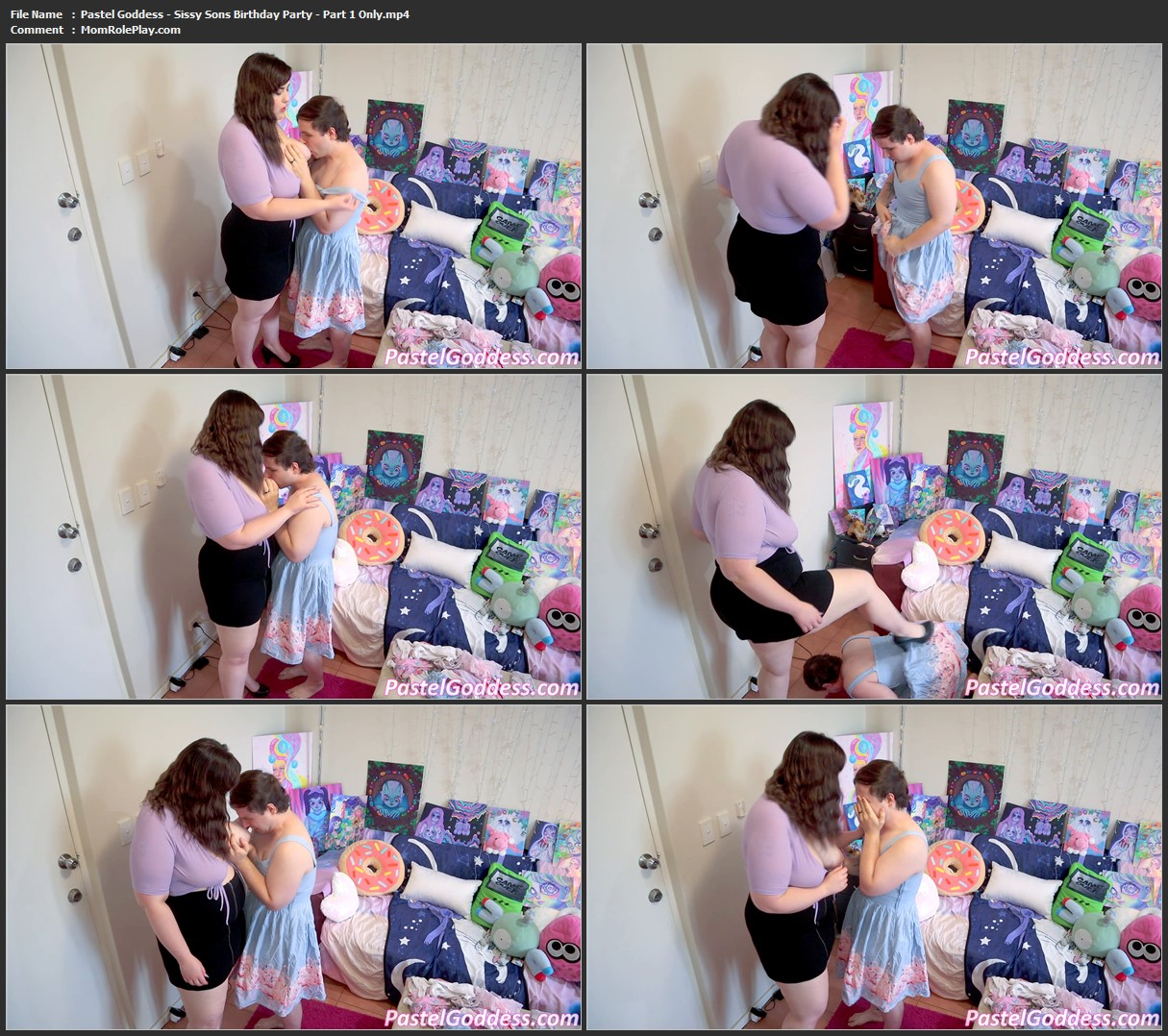 Pastel Goddess - Sissy Sons Birthday Party - Part 1 Only