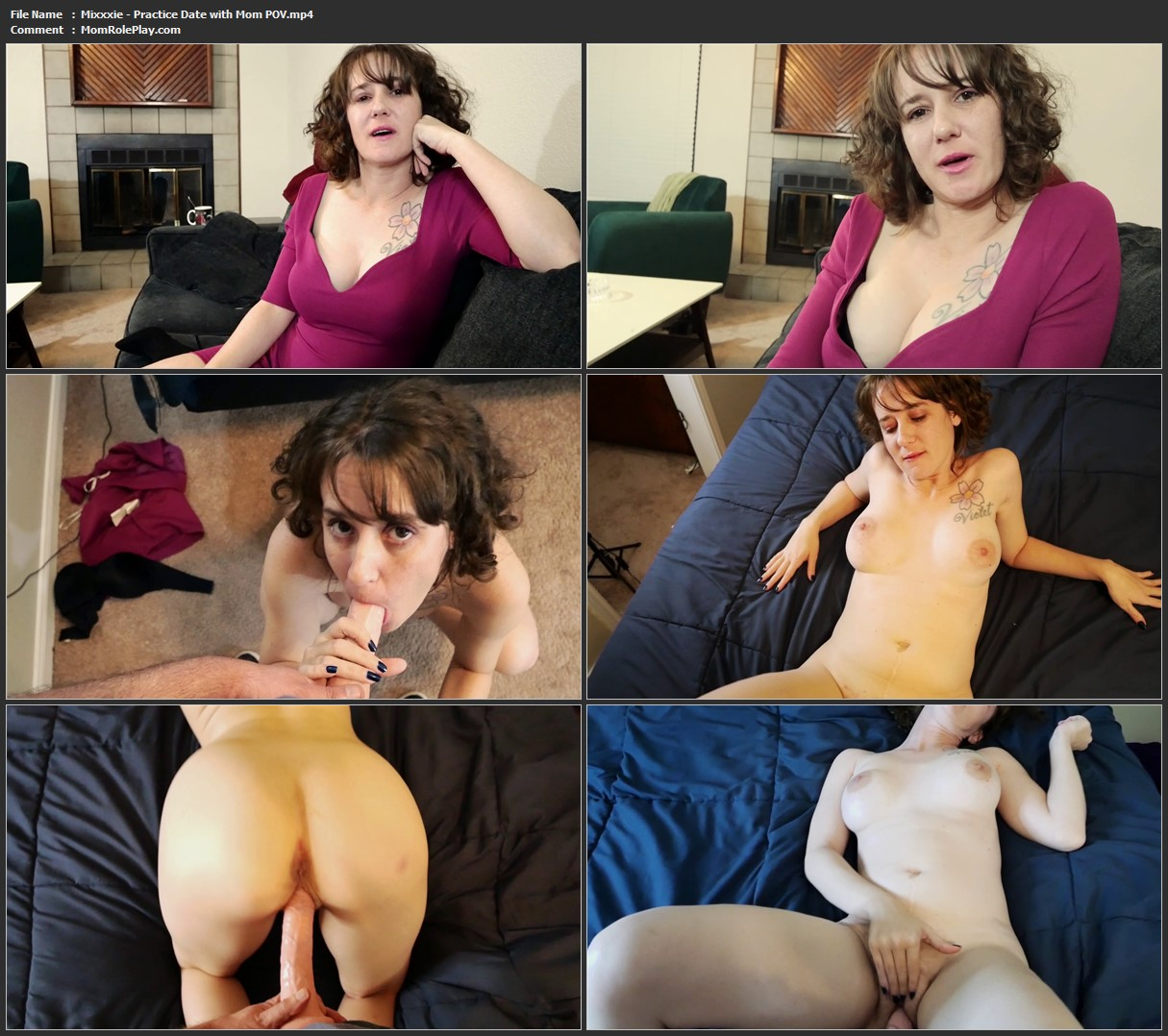 Mixxxie - Practice Date with Mom POV