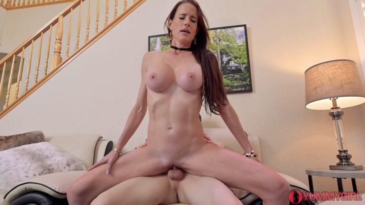 Sofie Marie – Cougar Fucks Stepson to Keep a Secret