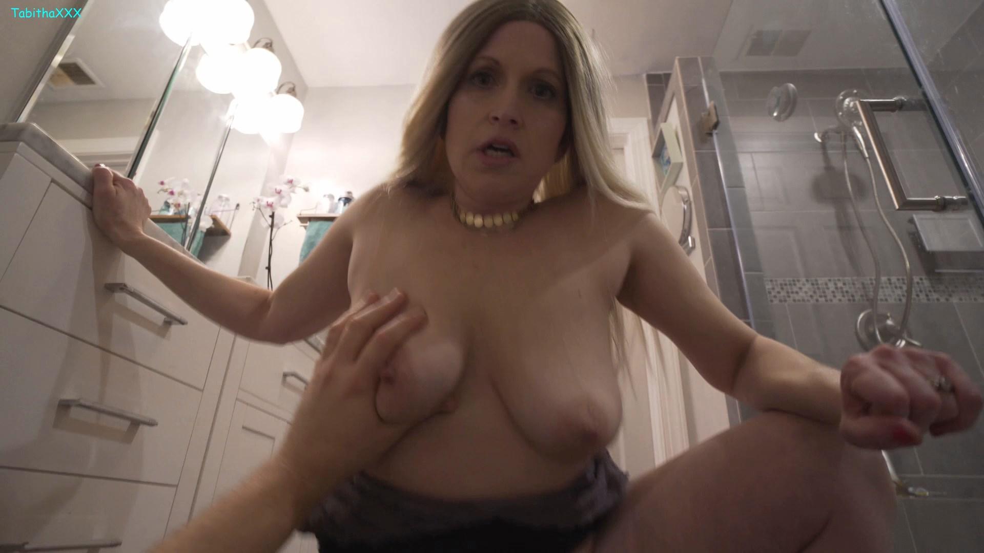 TabithaXXX - Mom/Son Reminisce Pre-Marriage FUCK