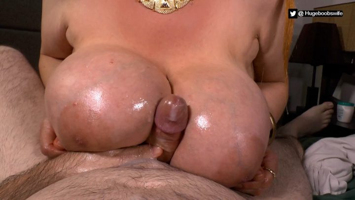 Hugeboobswife - Mommy Apply Medicine on Her Stepson