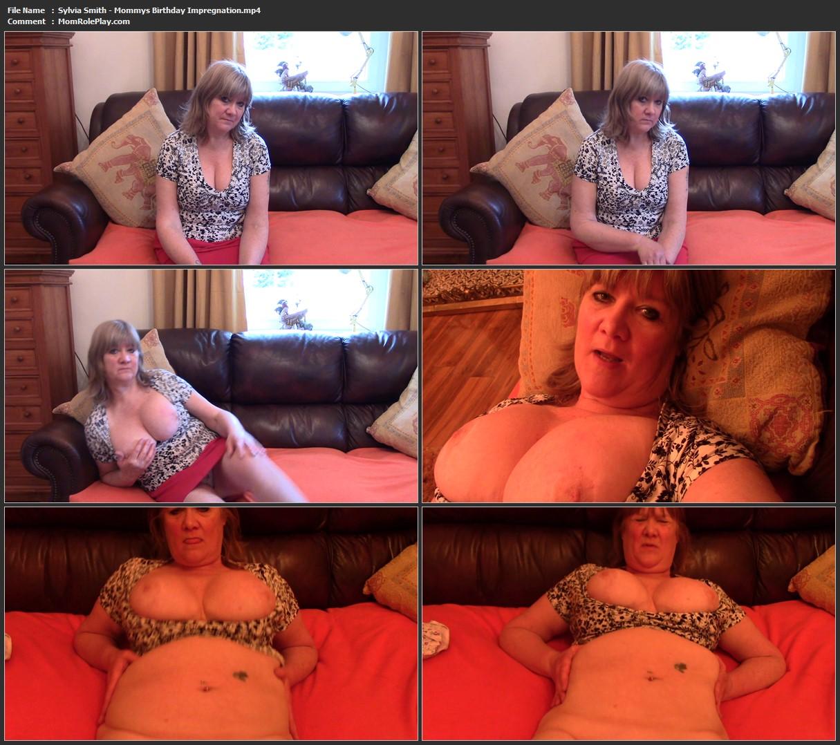 Sylvia Smith - Mommys Birthday Impregnation