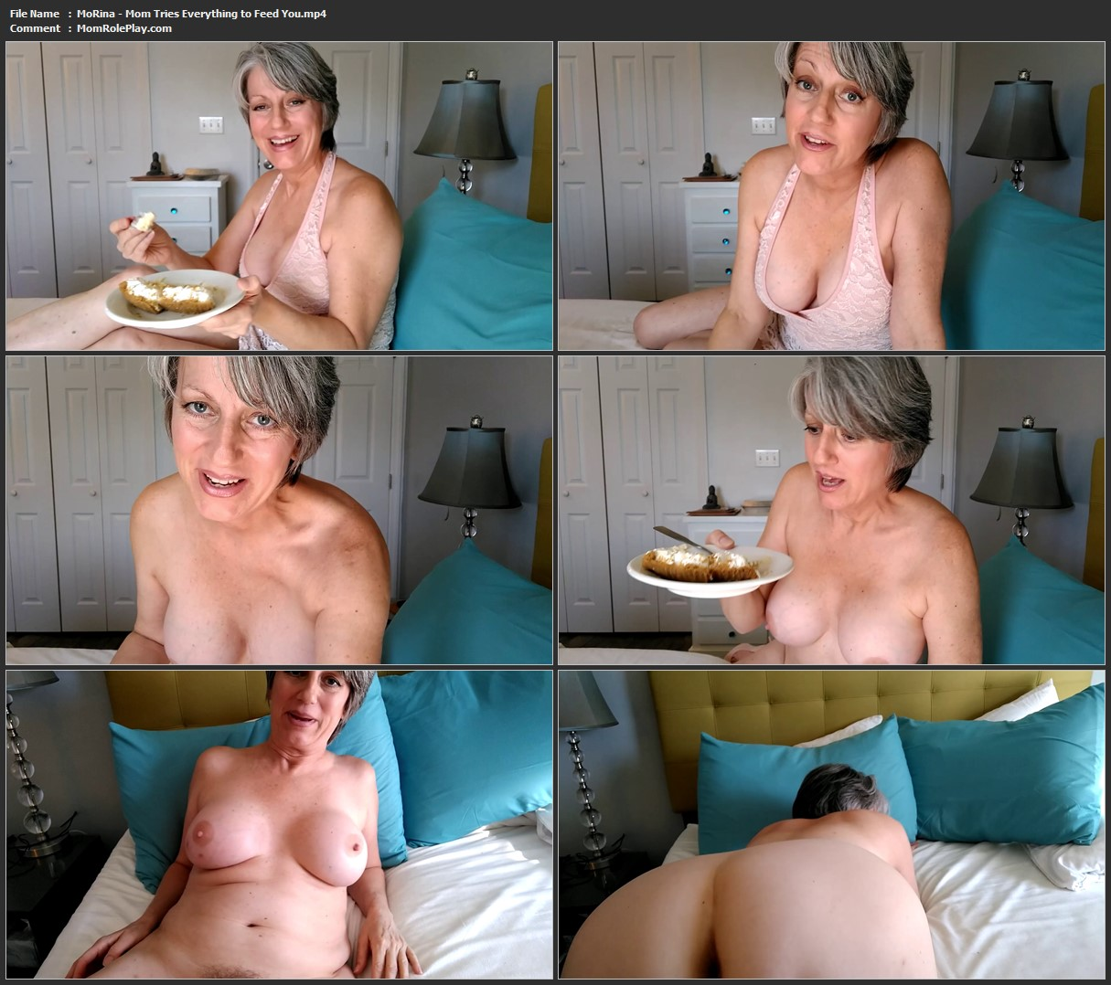 MoRina - Mom Tries Everything to Feed You