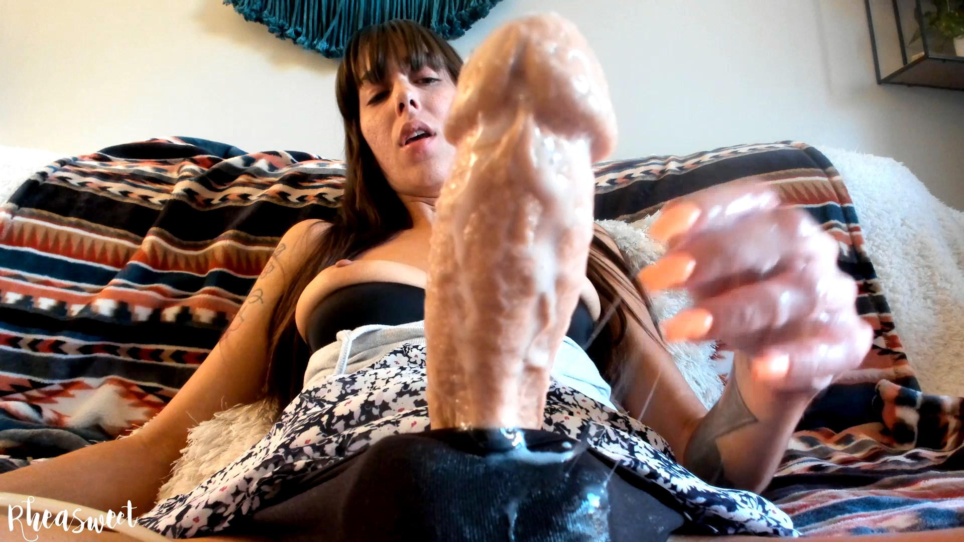 Rhea Sweet - Son Sucks Mommy's Cock