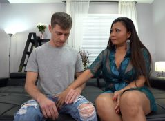 Jackie Knight - Stepmom Teaches Virgin Son How to Fuck