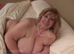 Mommie Gives You Your First Blow Job - Curvy Sharon's Mommie Fantasies
