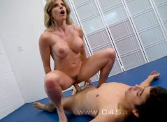 Mixed Model Wrestling - Wrestling and Fucking My Son - Cory Chase