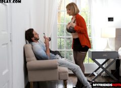My Friends Hot Mom - Sara Jay - Sara's big tits attract her son's best friend 1080p